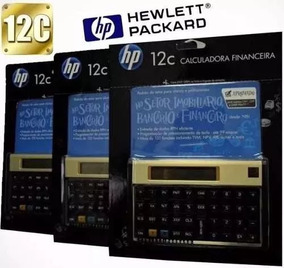Calculadora Hp 12c Gold Financeira Pronta Entrega