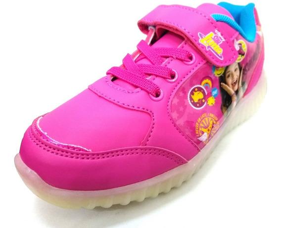 Zapatillas Disney Soy Luna Con Luces Led