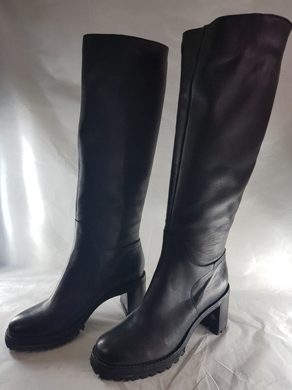 Bota Caña Alta Prune Margot Zapato Mujer 2018
