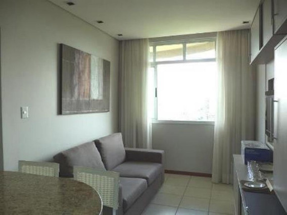 Apartamento Mobiliado Para Locação No Vila Da Serra Com 40m²; - 17404