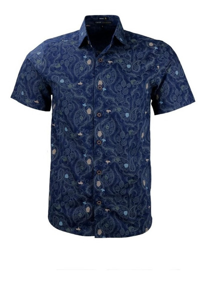 Camisa Manga Curta Albana Modelagem Confort 9 8 2 3 5 1 488