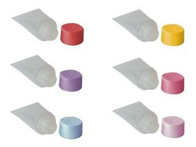 Mini Bisnaga Plástica De 15ml (pacote C/ 30 Unidades)
