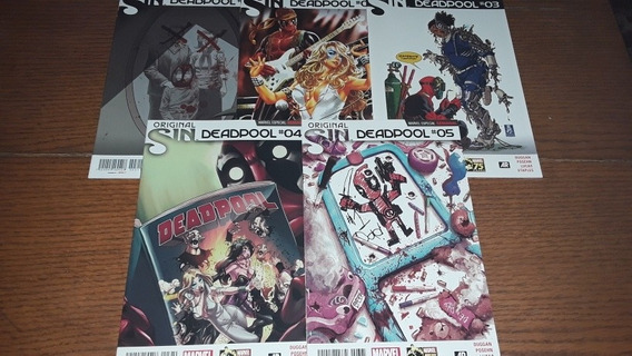 Original Sin Deadpool Marvel Comics Televisa Dc Hulk Thor