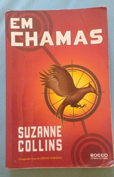 Livro Jogos Vorazes Em Chamas Suzanne Collins (usado)