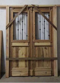 Puerta De Entrada De Pinotea (madera Antigua Reciclada)
