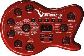 Pedaleira Para Guitarra Behringer V Amp Iii