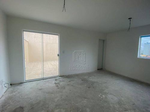 Imagem 1 de 20 de Cobertura À Venda, 93 M² Por R$ 650.000,00 - Vila Curuçá - Santo André/sp - Co5546