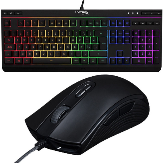 Kit Gamer Hyperx Teclado Mouse Core Rgb Mexx 1