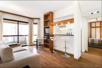 Apartamento Em Itaim Bibi, São Paulo/sp De 47m² 1 Quartos À Venda Por R$ 850.000,00 Ou Para Locação R$ 5.500,00/mes - Ap226346lr