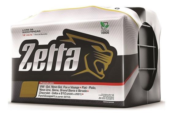 Bateria Automovel Zetta 60 Ah- Nova Selada Polo + Direito
