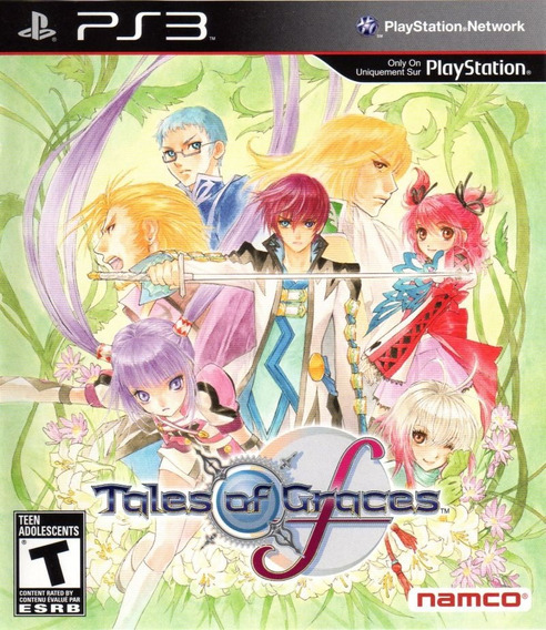 Jogo Tales Of Graves F Playstation 3 Ps3 Rpg Frete Grátis