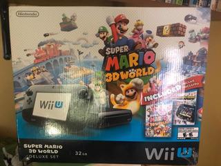 Wii U 32 Gb Deluxe Set
