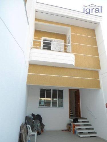 Imagem 1 de 30 de Sobrado Com 2 Dormitórios - So0460