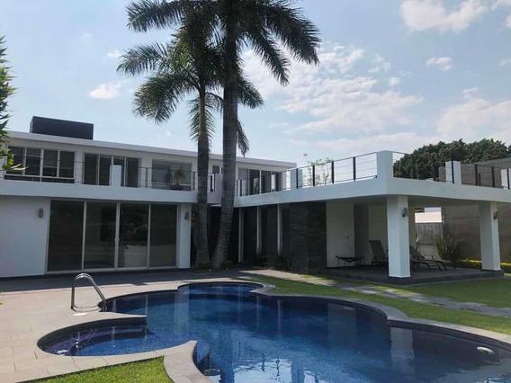 Hermosa Casa En Club De Golf Hacienda Cocoyoc Morelos