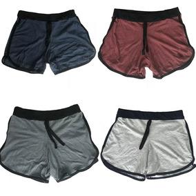 Kit 5 Shorts Feminino Moleton 100 0algod O Nike Shorts