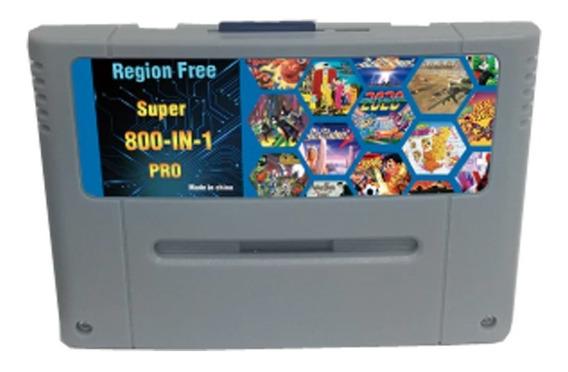 Cartucho Fita Multi Jogos Super Nintendo Snes Super Famicom