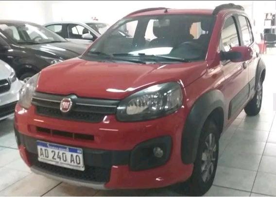 Fiat Uno Way 1.3 Con Gnc Año: 2018 (y) Impecable