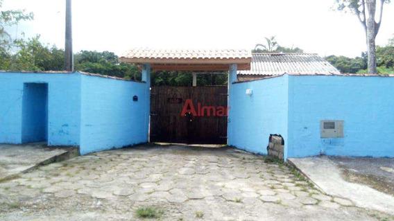 Linda Chácara Em Peruíbe 1.750 M² Com3 Dormitórios E 10 Vagas - V7248