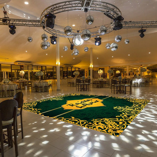 Pista De Dança Para Casamento Árabe Arabia Ps24 - 5x5m