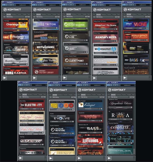 Librerias Kontakt Software De Instrumentos Musicales