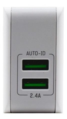 Cargador Inteligente Wefone 2 Puertos Samsung iPhone 2.4 Amp