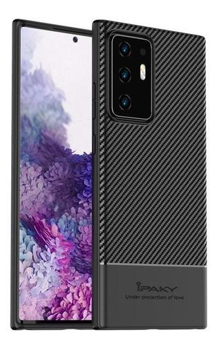 Imagen 1 de 8 de Funda Case Slim Fibra Carbono Premium Galaxy Note 20 Ultra