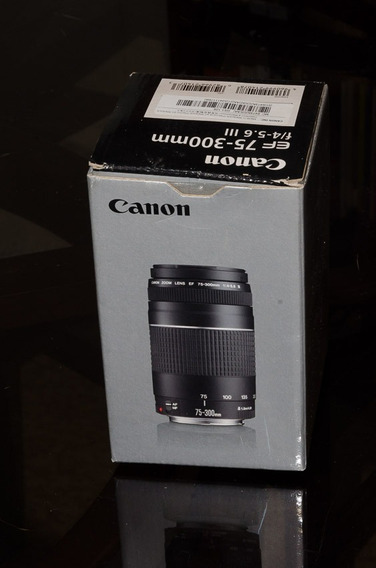 Lente Canon Ef 70-300 F4-5.6