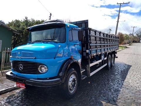 Caminhão Mb 1313 Truck Graneleiro