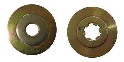 Imagem 1 de 1 de Kit Suporte Roçadeira Lamina / Flange Inferior E Superior