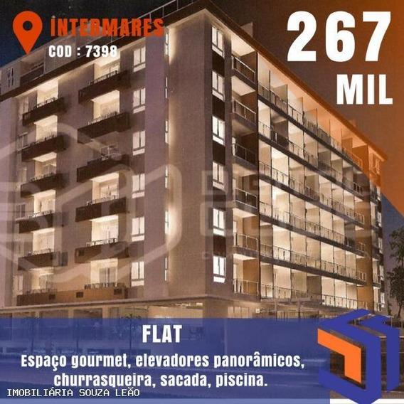 Flat Para Venda Em João Pessoa, Intermares, 1 Dormitório, 1 Banheiro - 7398_1-691004