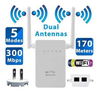 Amplificador De Señal Wifi 300 Mbps Inalambrico