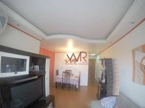 Apartamento À Venda, 55 M² Por R$ 299.999,99 - Cidade Líder - São Paulo/sp - Ap0769