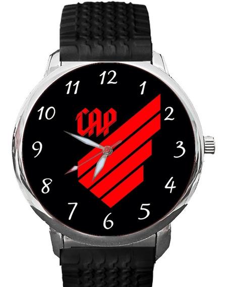 Relógio Atlético Paranaense Cap Furacão Tigre Rubro Negro