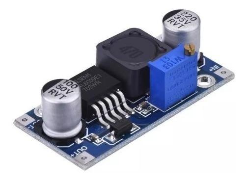 Fonte Regulável Step-up Xl6009 Dc-dc Arduino