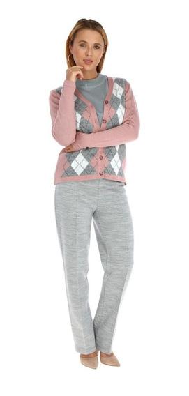 Sweater Rombos Para Dama