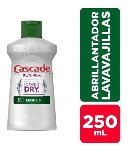 Abrillantador Lavavajilla Cascade Rinse 250ml X 80 Lavados