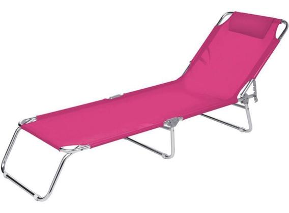 Cadeira De Praia Espreguiçadeira Mor 2704 4 Posições