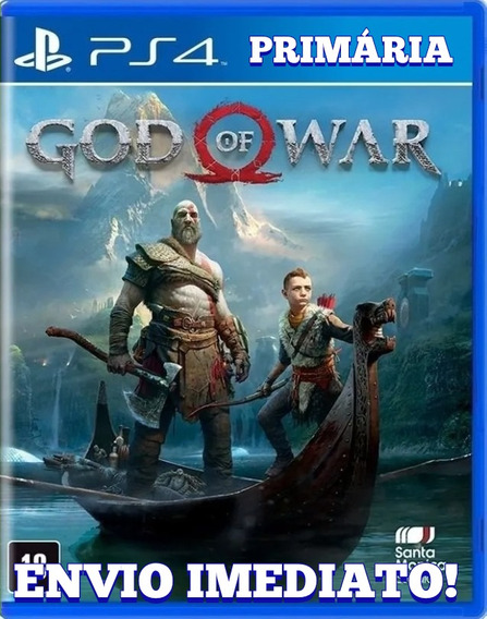 God Of War 4 Dublado Ps4 1° Digital Psn Original