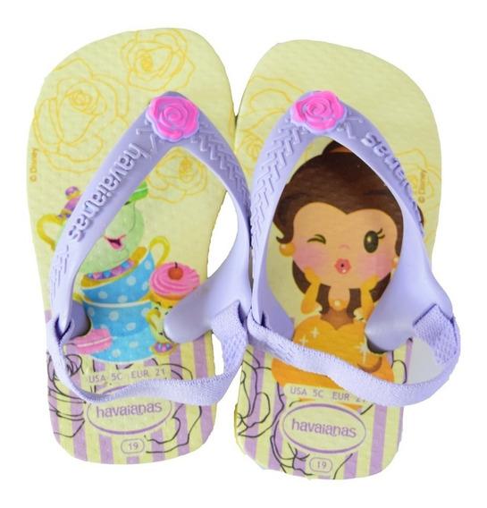 Ojotas Havaianas Baby Disney Princess Bella