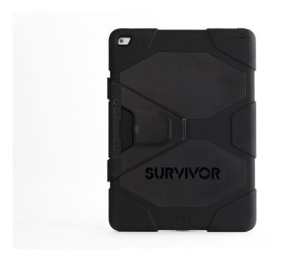 Capa iPad New 2017 A1822 A1823 Anti Impacto Choque Survivor Com Nota Fical