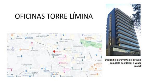 Oficina Torre Limina De 38m2 Y 86m2, Baruta.