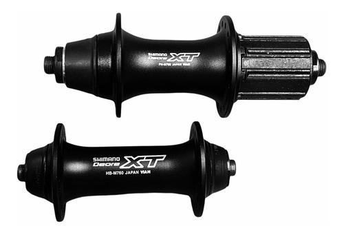 Imagen 1 de 4 de Mazas Shimano Xt 760 Vbrakes. Nuevas!! Carbonobikes