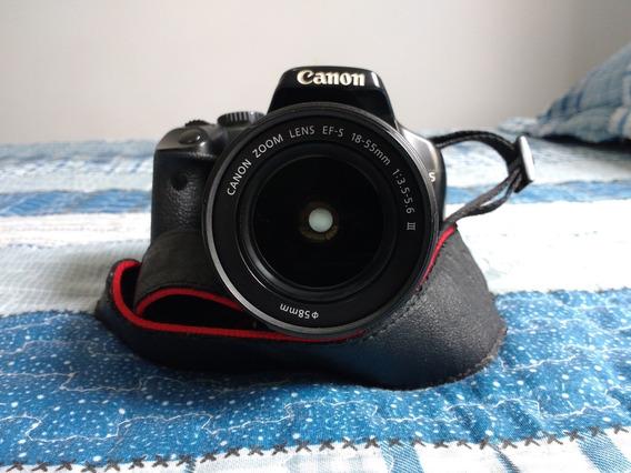 Canon Eos Rebel 450d Completa (bateria, Catões, Bolsa)