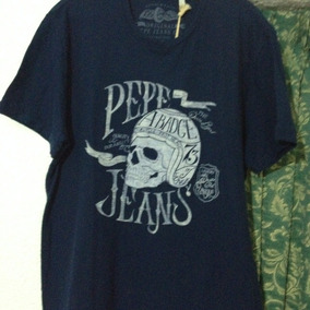 Playera Pepe Jeans Pm502039 Jack Talla Grande*jcvboutique*