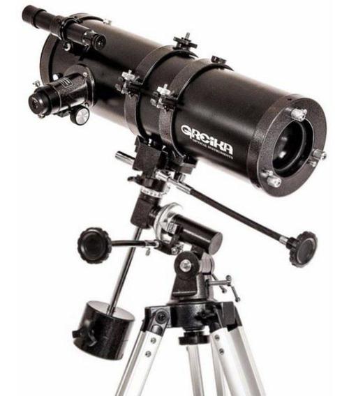 Telescopio Greika Equatorial 1400x150mm Ampliação 1050x