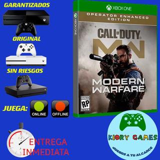 Cod Modern Warfare Op En Xbox One