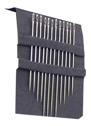 Kit Com 12 Agulhas De Costura