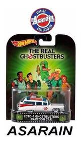 Ecto 1 Ghostbusters Cartoon Caça Fantasmas Retro Hot Wheels