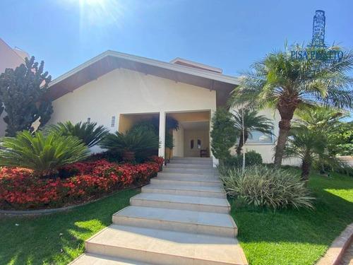 Imagem 1 de 30 de Casa À Venda, 452 M² Por R$ 2.500.000,00 - Jardim Nossa Senhora Aparecida - Paulínia/sp - Ca2466