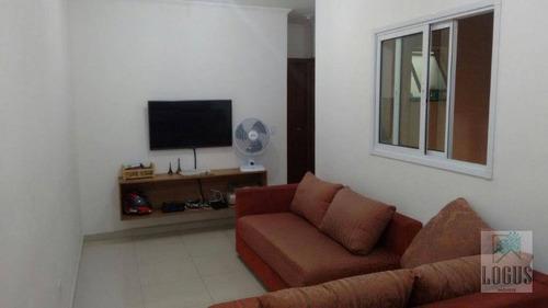 Imagem 1 de 6 de Cobertura À Venda, 94 M² Por R$ 350.000,00 - Vila Alice - Santo André/sp - Co0025